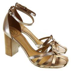 Sandália Metal Prata Velha 4009 Werner | Moselle sapatos finos femininos! Moselle sua boutique online.
