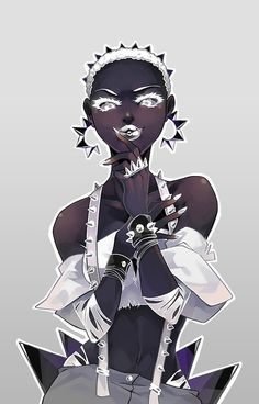 Under an Eldritch Sky Black Love Art, Black Girl Art, Art Girl, Black Girls Drawing, Inspiration Art, Character Design Inspiration, Fantasy Character Design, Character Art, Pretty Art