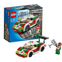 Buy LEGO City Race Car from our Construction Toys range at John Lewis & Partners. Lego Cars, Lego Auto, Race Cars, Lego City Police, Top Christmas Toys, Lego City Sets, Racing Helmets, Racing Wheel, Buy Lego