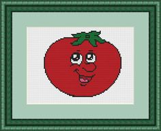 Check out this item in my Etsy shop https://www.etsy.com/listing/551545472/cute-tomato-tomato-cross-stitch-tomato