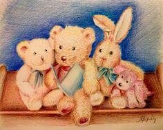 colored pencils ξυλομπογιες A4 για παιδικο δωματιο