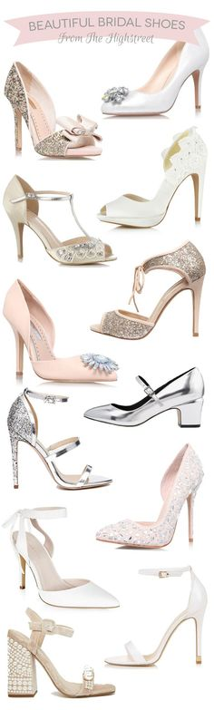 Beautiful Budget Friendly Bridal Shoes from the Highstreet  2f5fdafff6f