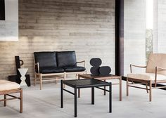 Carl Hansen & Søn completes Wanscher's Colonial collection
