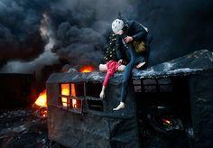 A Batalha de Kiev em 70 fotos impressionantes