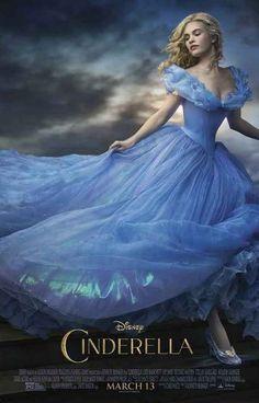 Cinderella Live-Action Disney Movie Poster 11x17