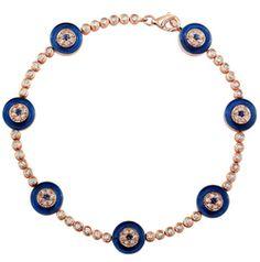 http://www.eyelavish.com/collections/bracelets/products/zanya-glass-evil-eye-tennis-bracelet-in-dark-blue