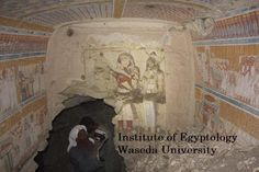 Prof. Jiro Kondo and a mission from Waseda University's Institute of Egyptology,made an amazing discovery! They discovered a private tomb of Khonsuemheb, in the el-Khokha area of the Theban necropolis, across the Nile from Luxor. This remarkable discovery uncovered a beautifully preserved and elegantly decorated tomb, with painting adorning the walls. This tomb probably dates back to the Ramesside period.