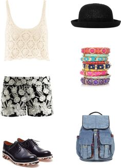 """Coachella Day 3"" by gleekygeek on Polyvore"