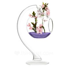 Artistic Nice Hanging Glass Vase (128048471) - JJsHouse