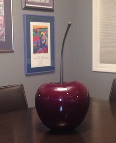 A giant cherry for my kitchen table! Dania Furniture