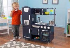Vintage Kitchen in Navy - Kidkraft
