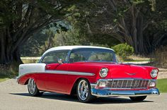 1956 Chevy Bel Air East Photograph by Dave Koontz - 1956 Chevy Bel ...