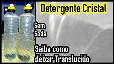 BASE DETERGENTE CRISTAL + COMO DEIXA TRANSLUCIDO(Dica)