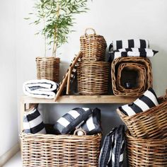 with baskets on pinterest baskets mantels decor and wicker baskets