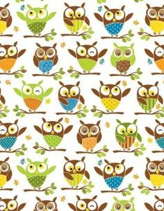 """Amazon.com: Owl Gift Wrap Paper """"Its a Hoot"""": Health & Personal Care"""