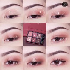 Tips And Suggestions For Managing Your Skincare Issues - Beauty Skincare Products Soft Eye Makeup, Asian Eye Makeup, Eye Makeup Steps, Simple Eye Makeup, Eyeshadow Makeup, Makeup Eyes, Korean Makeup Look, Korean Makeup Tips, Korean Makeup Tutorials