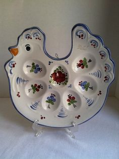 'Decrative Deviled Egg Plate' is going up for auction at 12am Thu, Sep 20 with a starting bid of $3.