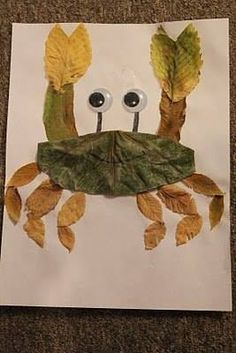 37 Best Leaf animals images in 2017 | Leaf crafts, Autumn