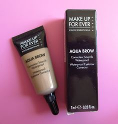 Make Up For Ever Aqua Brow Waterproof Eyebrow Corrector Review