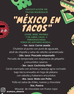Aramara Almeria, comida mexicana, almeria, almeria centro Carne Asada, Mole, Achiote, Homemade Pickles, Onion Dip, Caramelized Onions, Chocolate Mouse, Chipotle Aioli, Chili Dip