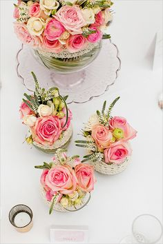 How To Create An Elegant Pastel Wedding - The Wedding Chicks Floral Centerpieces, Wedding Centerpieces, Floral Arrangements, Wedding Bouquets, Wedding Decorations, Flower Arrangement, Centrepieces, Wedding Flowers, Wedding Dresses