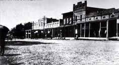 """Collierville Town Square 1900. From """"Old Collierville"""" Facebook page"""