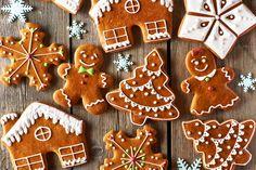 Biscotti pan di zenzero (gingerbread) all'olio di semi di mais: sogno di una notte di mezzo inverno