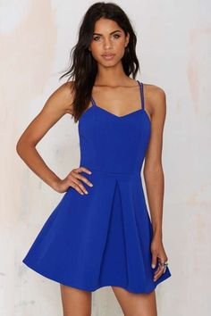 Keepsake Twisted Fiction Pleated Dress - Going Out