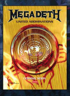 Megadeth Band Posters Concert Megadeath