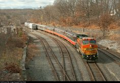 RailPictures.Net Photo: P&W 582 Providence and Worcester Railroad GE B40-8W (Dash 8-40BW) at Woonsocket, Rhode Island by Paolo Roffo