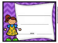Δραστηριότητες, παιδαγωγικό και εποπτικό υλικό για το Νηπιαγωγείο & το Δημοτικό: Βραβειάκια για τρομερά Νηπιάκια (για το τέλος της σχολικής χρονιάς) - μέρος δεύτερο Page Borders, Borders And Frames, September Crafts, Classroom, Education, School, Blog, Journaling, Graduation