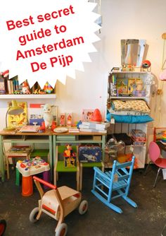 Best hidden gems of Amsterdam- De pijp Includes photos, links, personal recommendations and Google maps.