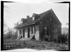 1.  Historic American Buildings Survey R. Merritt Lacey, Photographer April 23, 1936 EXTERIOR - SOUTHWEST AND NORTHEAST ELEVATIONS - Samuel des Marest House, River Road, New Milford, Bergen County, NJ