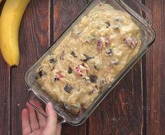 Pain exquis aux bananes, framboises et chocolat noir - Recettes - Ma Fourchette