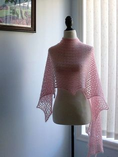 Ravelry: Slow Motion pattern by Alla Saenko Knitting Designs, Knitting Projects, Crochet Projects, Stitch Patterns, Knitting Patterns, Crochet Patterns, Knitted Shawls, Crochet Shawl, Mohair Yarn