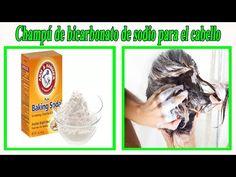 Champú de bicarbonato de sodio hará que tu cabello crezca rápido | #HoyEnBelleza - YouTube Natural Hair Care Tips, Natural Hair Styles, Baking Soda For Hair, Natural Shampoo, Bechamel, Health And Beauty Tips, The Creator, Beauty Hacks, Youtube