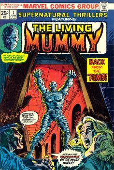 "Marvel Comic -""The Living Mummy"""