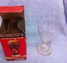 Boxed coca cola fifa #world cup limited #edition embossed #glass 2006 germany ,  View more on the LINK: http://www.zeppy.io/product/gb/2/252727454621/