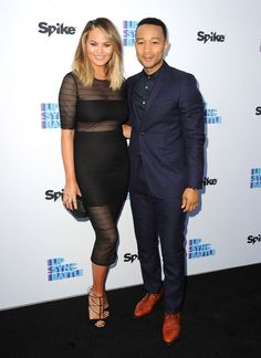 Pin for Later: Chrissy Teigen and John Legend Hit the Red Carpet Looking All Kinds of Gorgeous