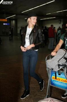 Candice's Crown : Candice Swanepoel arrives in SAO PAULO 28/10/13