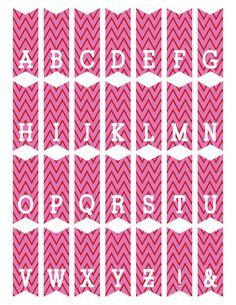 freebie_mini_alphabet_bunting_pink.jpg (614×794)