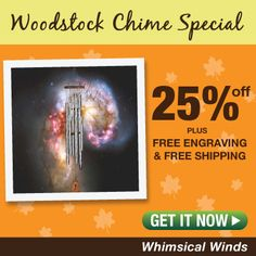 25%+ FREE engraving + FREE shipping  || whimsicalwinds.com || #windchimes Sound Of Music, Woodstock, Wind Chimes, Whimsical, Mystery, Butterfly, Free Shipping, Thoughts, Feelings