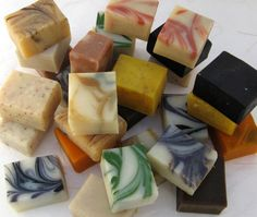 24 Half Bar Handmade Organic Soap Sampler Set by SweetSallysSoaps, $60.00