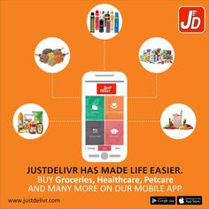 Get the App now @ https://play.google.com/store/apps/details?id=com.era.justdeliver&hl=en