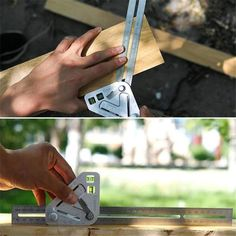 Get free woodworking tutorials and project ideas fit for beginner and advanced skill sets. Learn about common tools, woodworking techniques and more. Carpentry Tools, Woodworking Tools, Welding Tools, Quick Square, Interior Fit Out, Protractor, Used Tools, Metal Fabrication, Messing