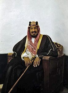 Ibn, Saud (Abdulaziz), founder of the Ikwhan King of Saudi Arabia in 1932 after uniting his dominions into the Kingdom of Saudia Arabia. He also defeated the last Ottoman caliph contender in and captured Mecca from the Hashemites. King Salman Saudi Arabia, Ksa Saudi Arabia, Saudi Arabia Culture, Saudi Men, Allah, Moon Logo, Arab World, Arabic Pattern, Business Invitation