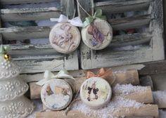 Декупаж - Сайт любителей декупажа - DCPG.RU | Банки с елочными подвесками Click on photo to see more! Нажмите на фото чтобы увидеть больше! decoupage art craft handmade home decor DIY do it yourself newa year christmas