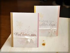 Feel better soon cards by Maile Belles for PTI (November 2011).