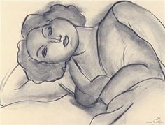 Henri Matisse, Lying woman