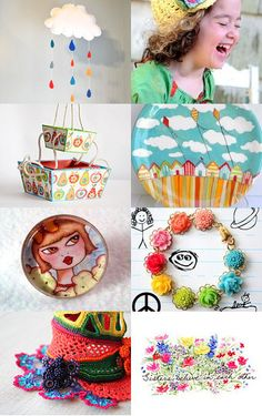 Colorful handmade gifts for kids of all ages! https://www.etsy.com/treasury/NzA1OTM2OHwyNzIxODQ1NTcz/colorful-spring